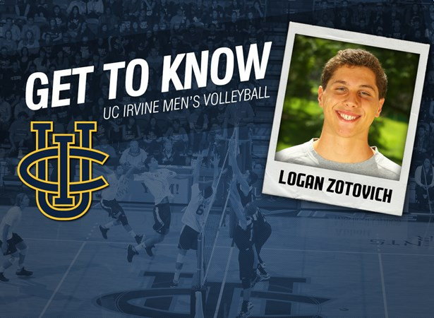 Meet The Newcomers: Logan Zotovich - UCI Athletics