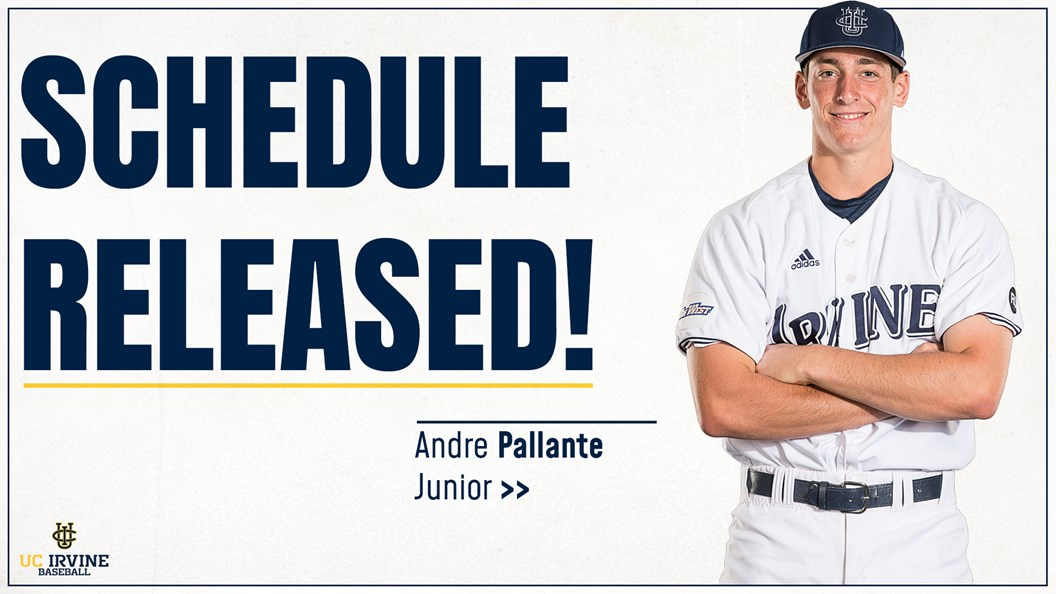 0deeef3aa Anteaters Reveal Loaded 2019 Baseball Schedule - UCI Athletics