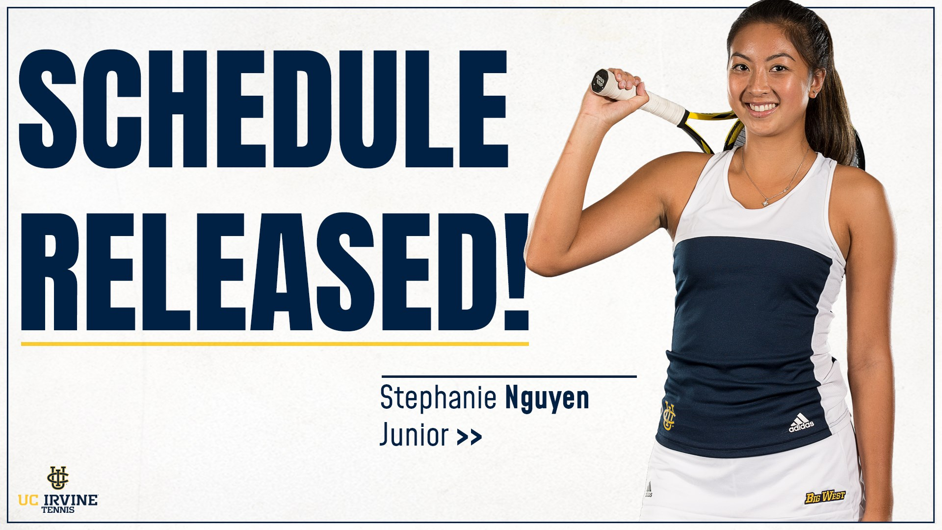 Women's Tennis Rolls Out New-Look Schedule in 2018-19 - UCI